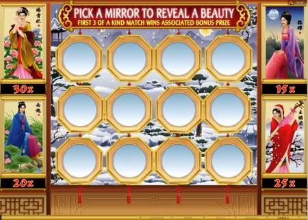 Asian Beauty mirror chooser