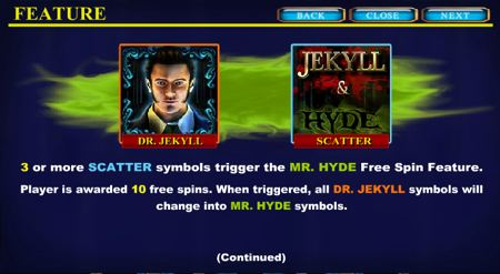 jekyll and hyde feature