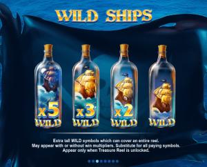 Pirates' Plenty Wild Ships