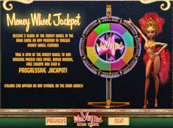 Mr Vegas money wheel