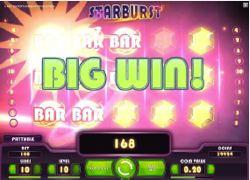 Starburst big win