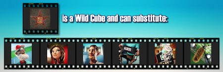Billion Dollar Movie Wild Cube symbols