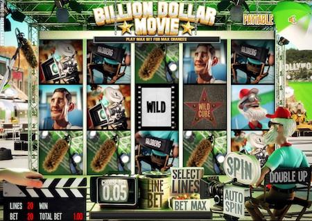 Billion Dollar Movie reels