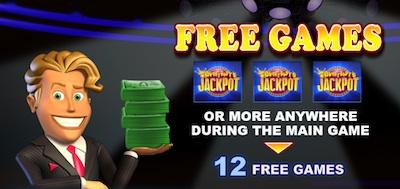 Everybody's Jackpot free games splash