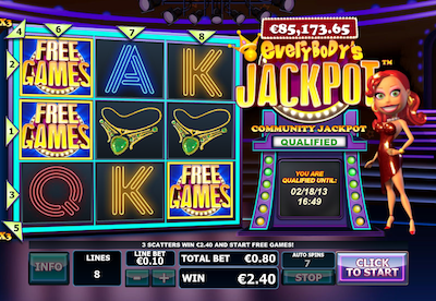 Everybody's Jackpot free games