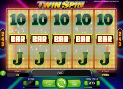 5 way Twin Spin win