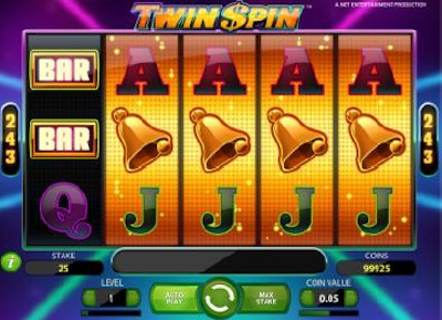 Twin Spin 4 reel match