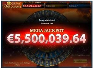 Mega Fortune 2 Wheel of Fortune