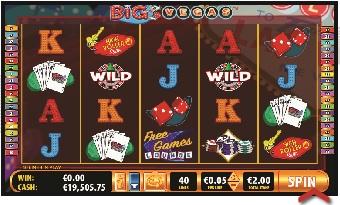 Big Vegas reels 1