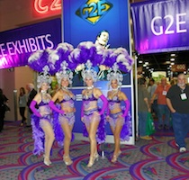 Showgirls at G2E Las vegas