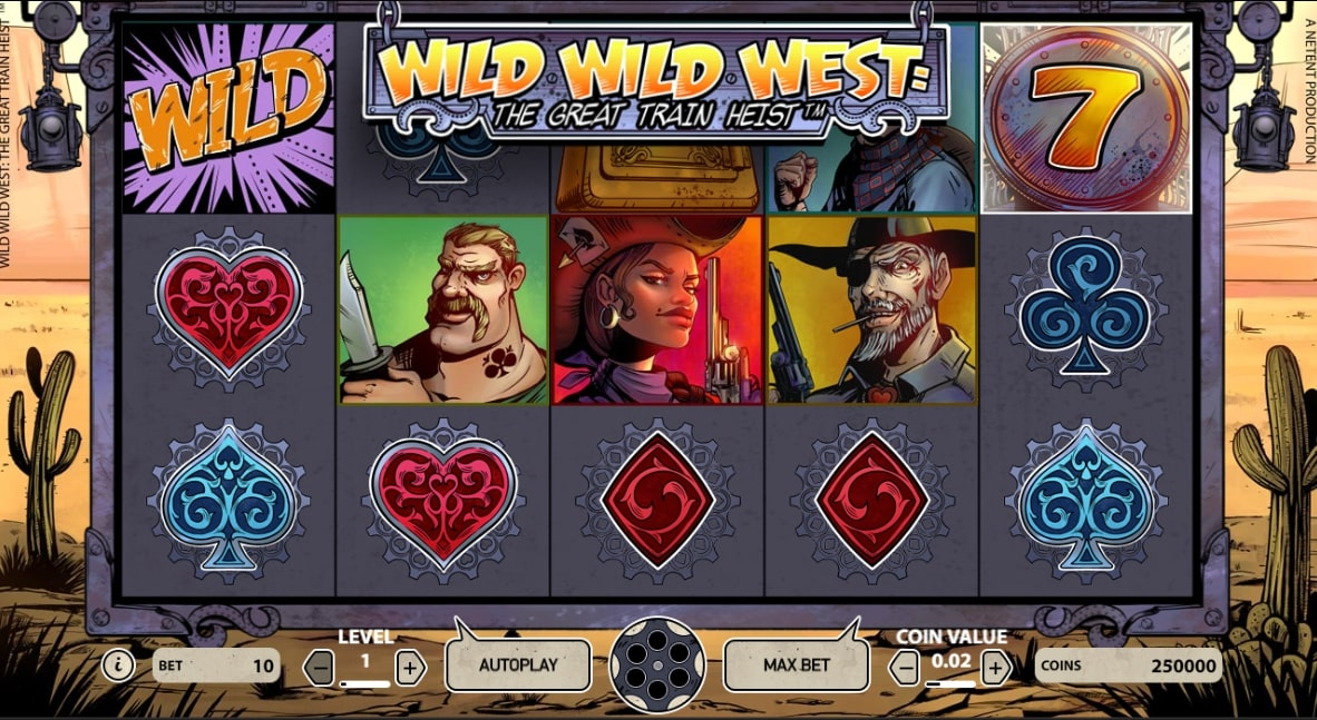 Wild Wild West - Exclusive Game at Betsson