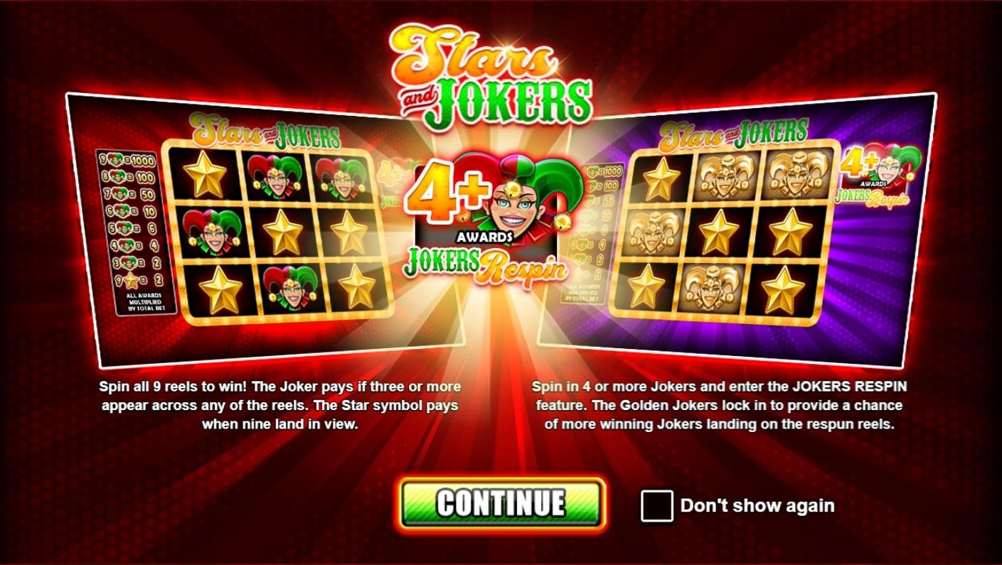 PlaynGo Stars and Jokers