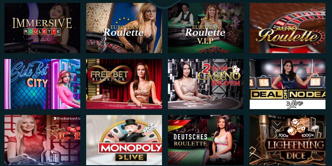Live Casino at Spela.com