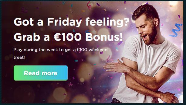 Friday Feeling at Spela.com