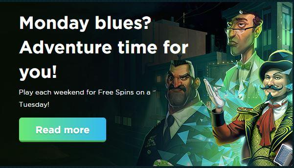 Monday Blues at Spela.com