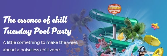 Tuesday pool Party at Casino Joy