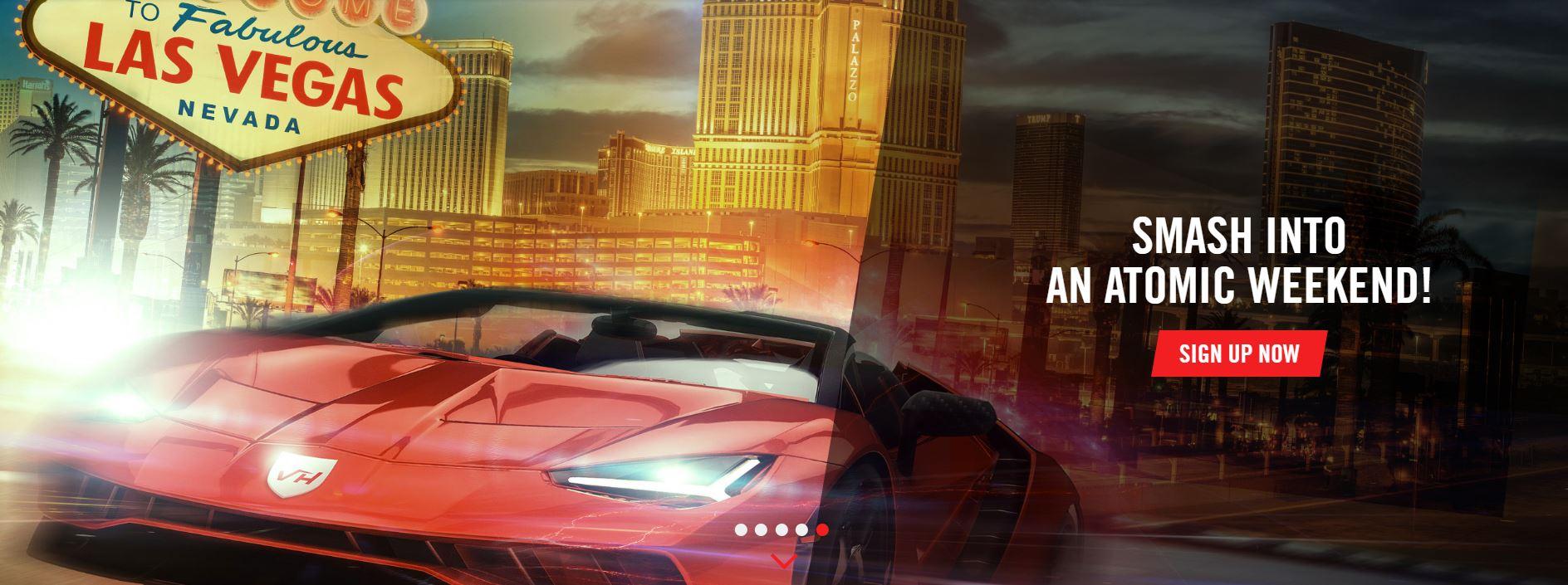 Atomic Weekend at Vegas Hero
