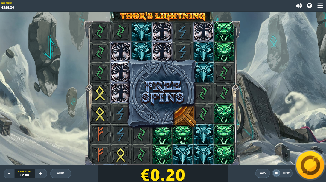 Thor's Lightning Online Slot Review