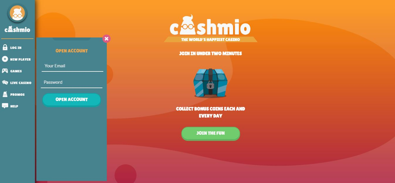 Cashmio Landing Page