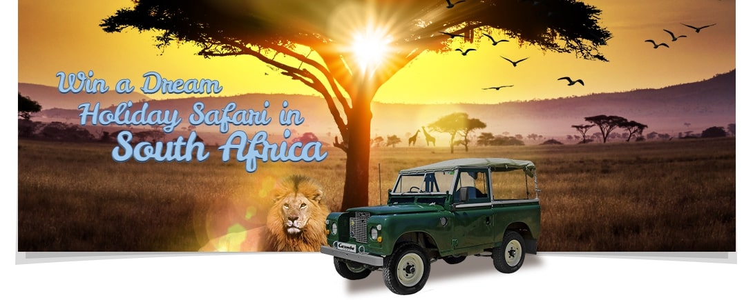 Win a Safari Holiday with Casimba