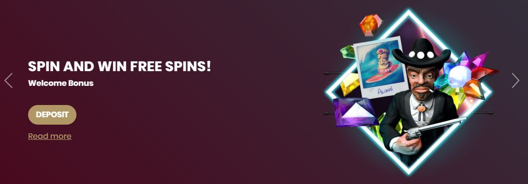 Welcome Offer at Cherry Casino
