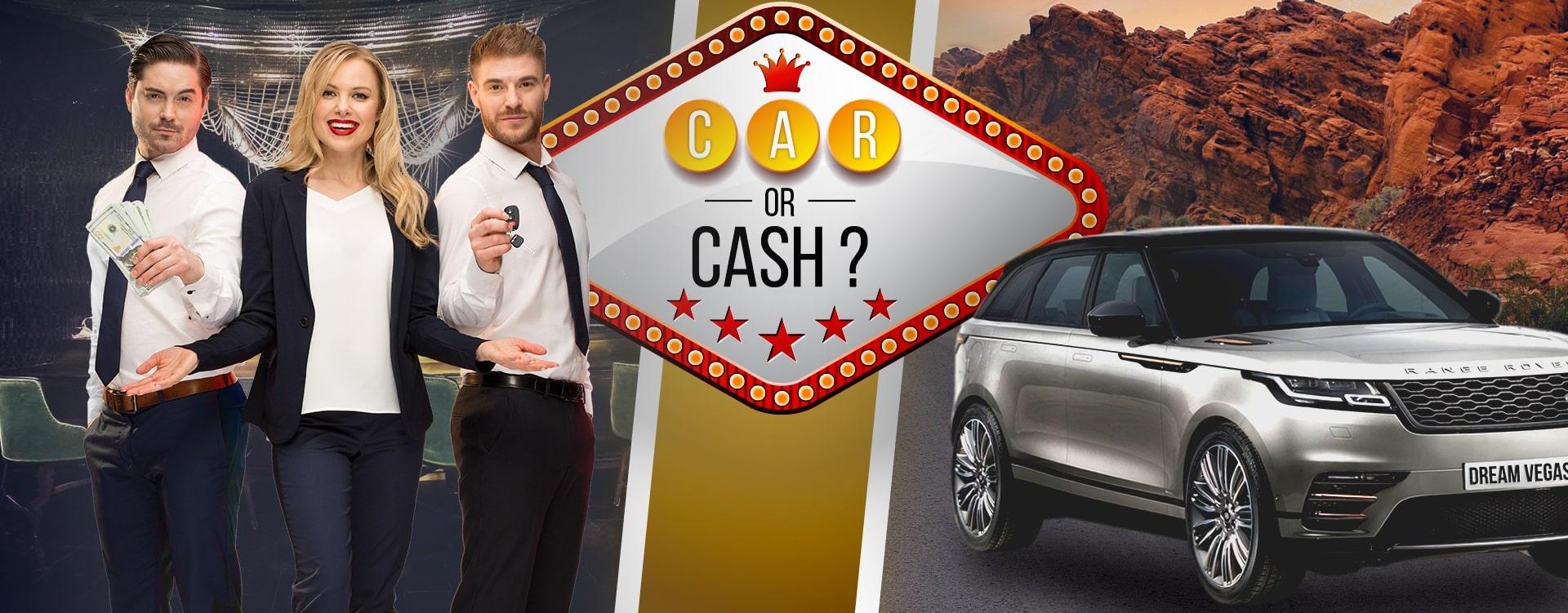Dream Vegas Car or Cash promotion