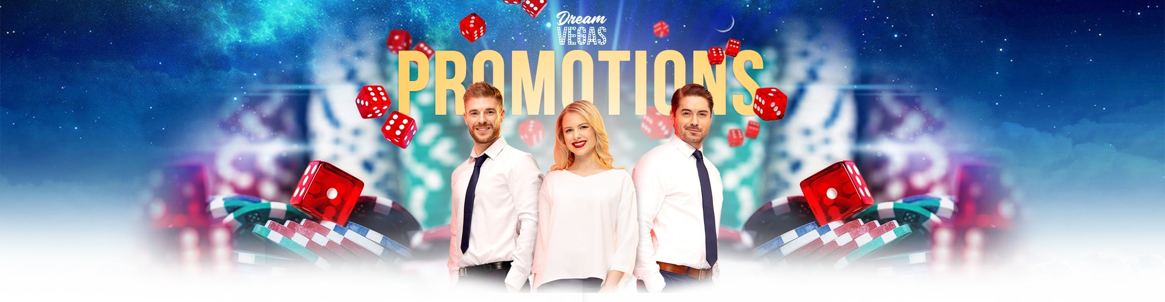 Promotions at Dream Vegas
