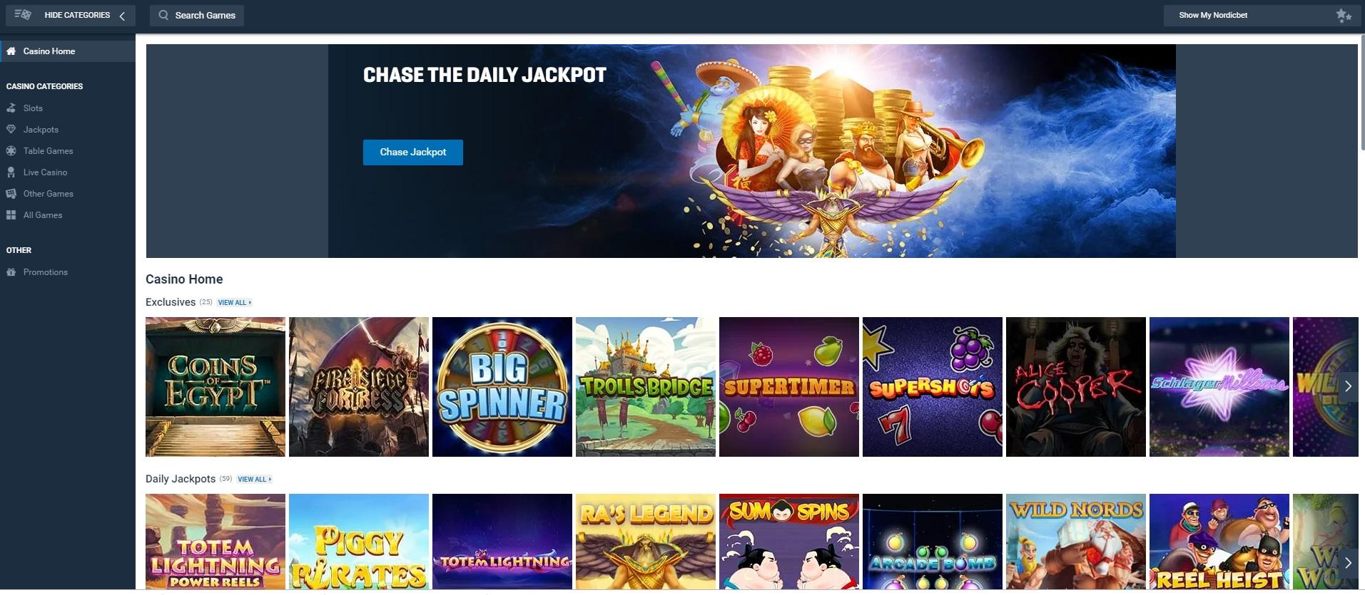 Nordicbet Casino Review At Slotmad Top Online Slots Bonuses