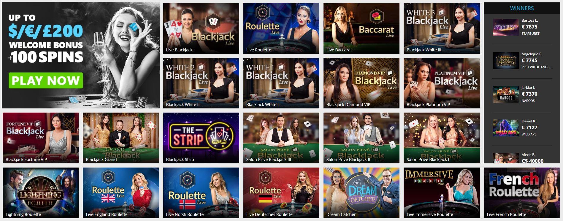 PlayClub Live Casino