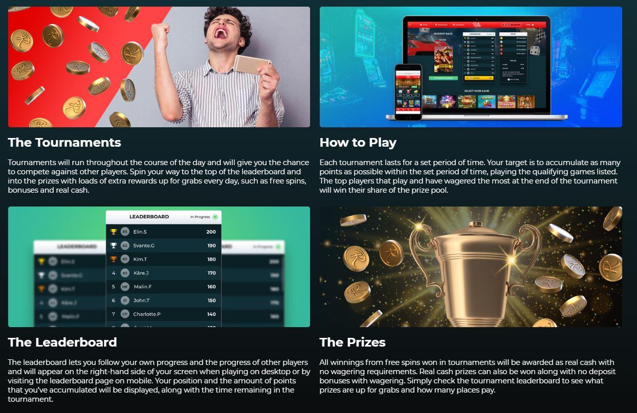 Tournaments info