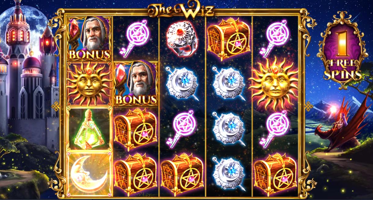 The Wiz Online Slot Machine Review