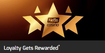 Hello! Casino Loyalty Rewards