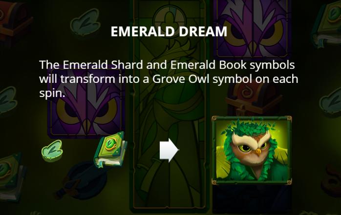 Owls Emerald Dream