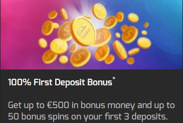Hello! Casino Welcome Bonus