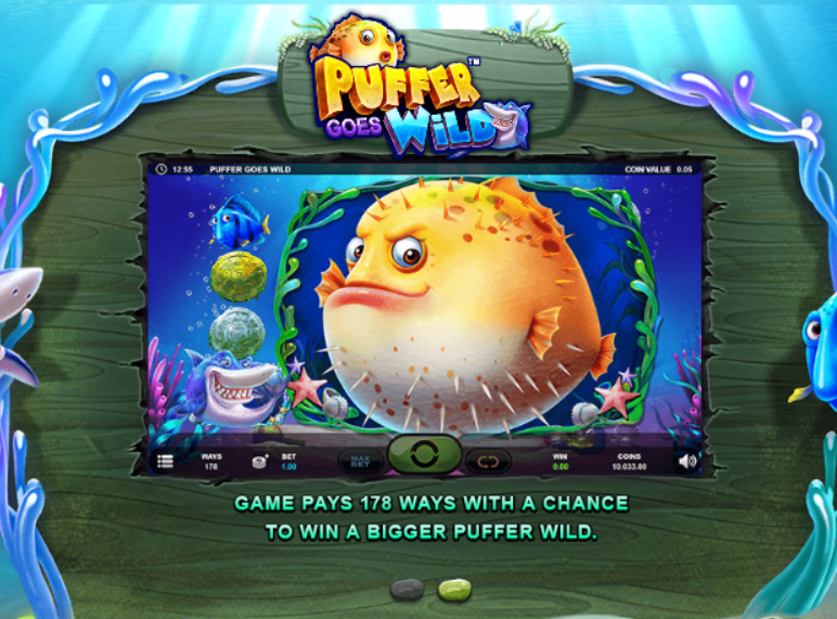 Puffer Goes Wild bonus
