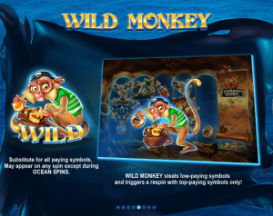 Ocean Spins Online Slot Machine Game