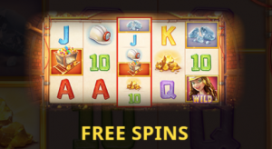 Lucky Mine Free Spin reels