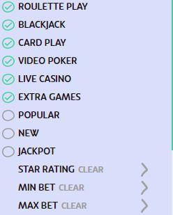 Casino Filter 2