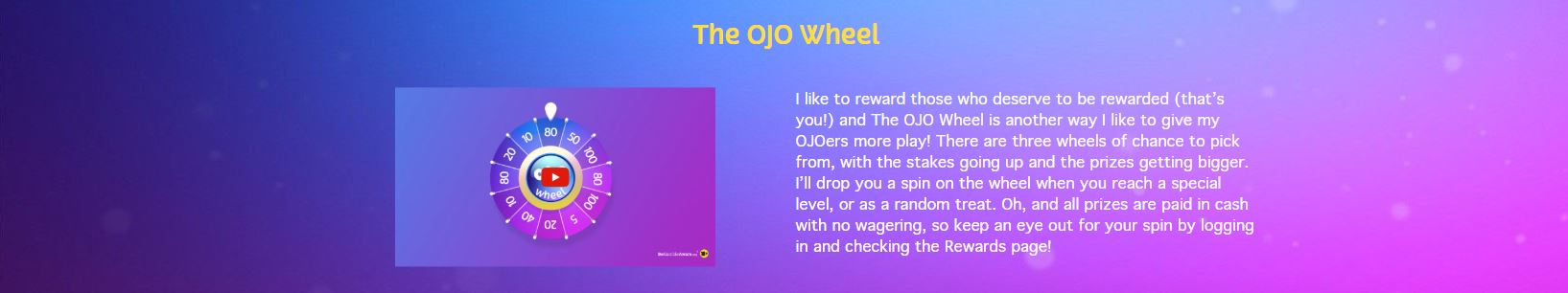 The Ojo wheel