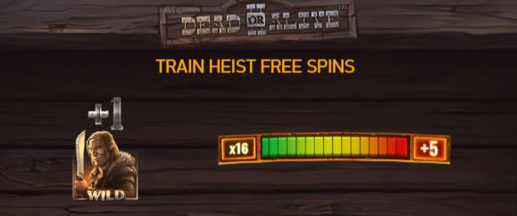 DOA 2 - Train heist bonus round