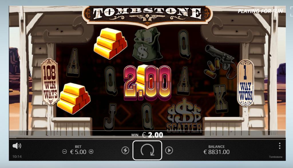 Tombstone slot No Limit City