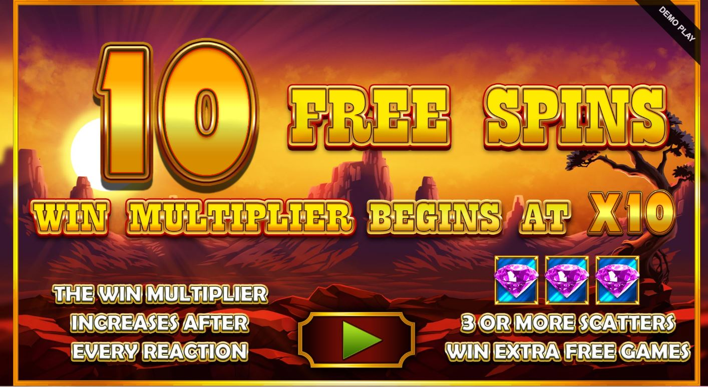 Upgraded Free Spins after Mystery Pick