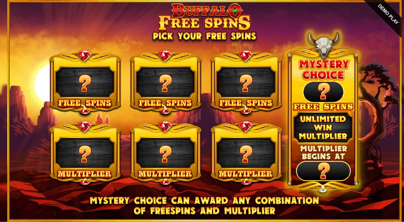 Mystery Pick of Free Spins and Multiplier