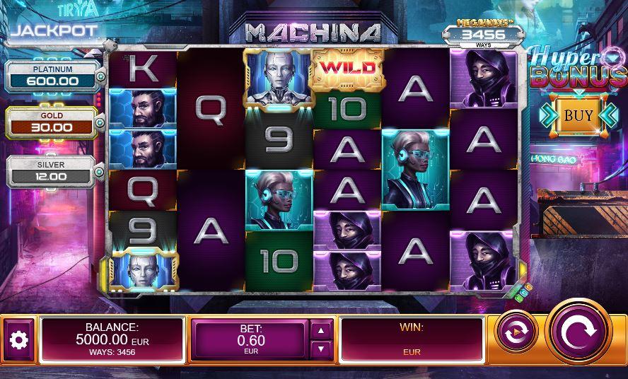Machina Megaways base game