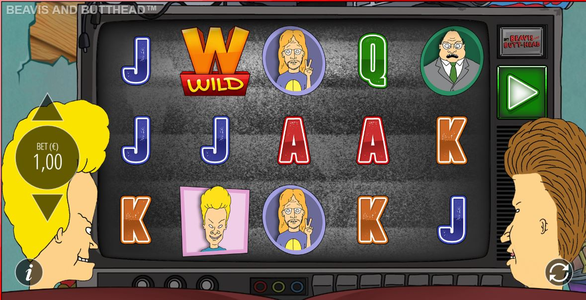 Beavis and Butthead Slot Game Play