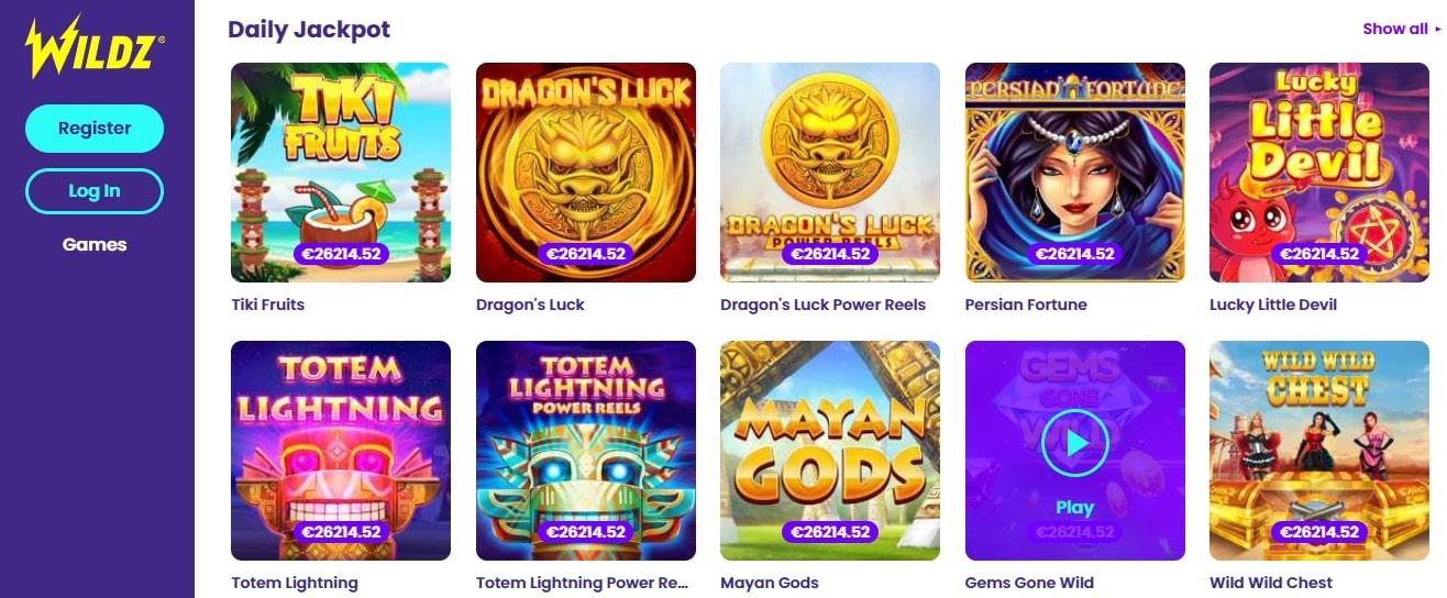 Daily Jackpots