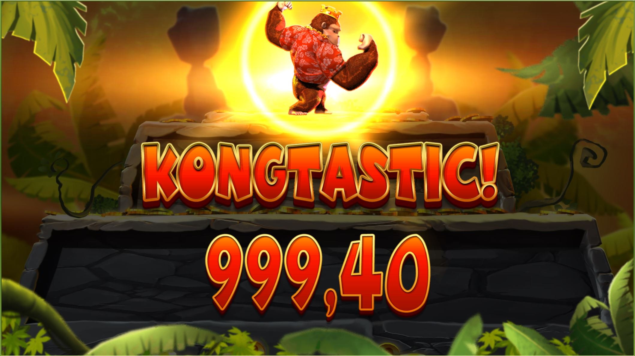 Kongtastic win