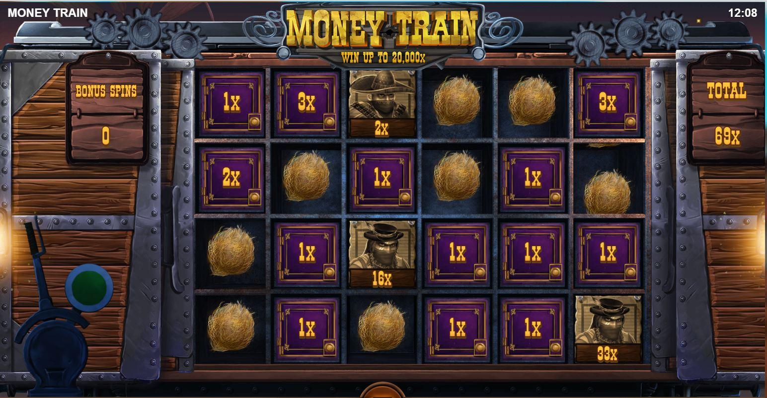 Money Train slot Bonus