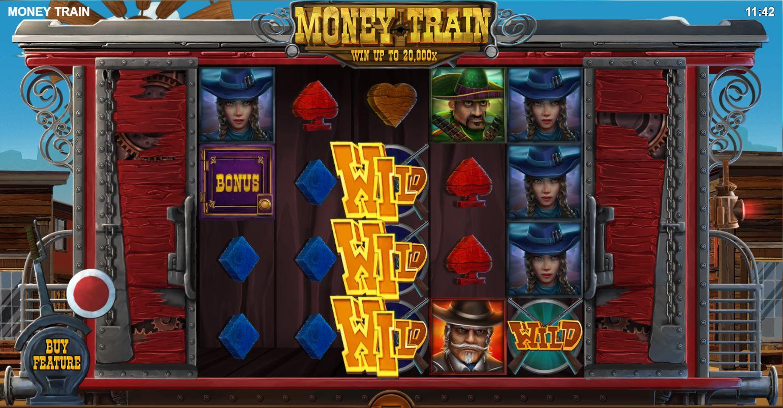 Money train reels
