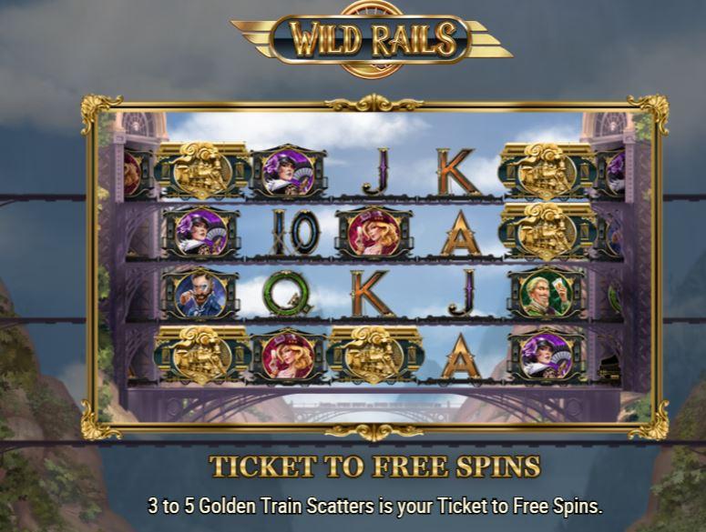 Wild Rails bonus round